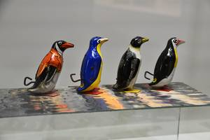 Mechanische Tierwelten [(c): Vogelkundemuseum Heineanum]